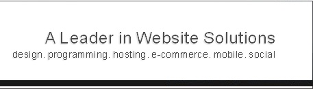 website design, website hosting, website maintenance, e-commerce, shopping cart systems, reservation systems, seo services